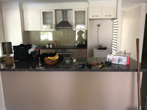 Carrara kitchen
